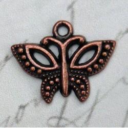 Motýl 2 ks (staromosaz)