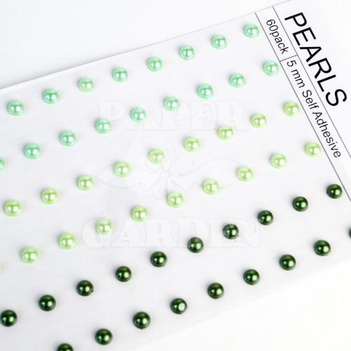 Mix Zelená - 60 ks