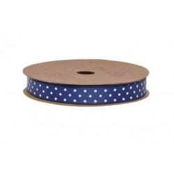 Navy modrá s puntíky 10 m
