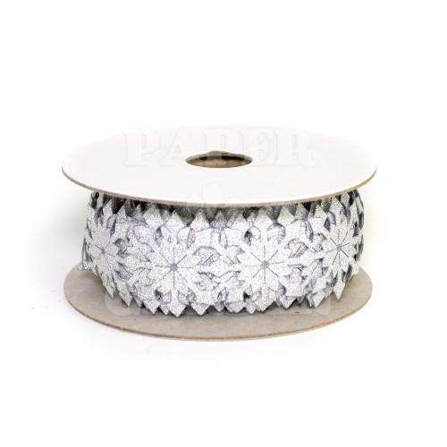 Brokátová - stříbrná
