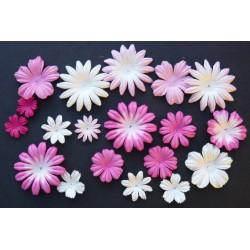Mix Růžová / Bílá - 100 ks