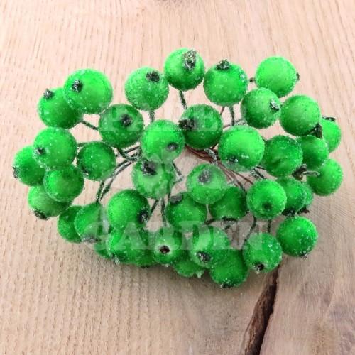 Zelené ojíněné 20 ks