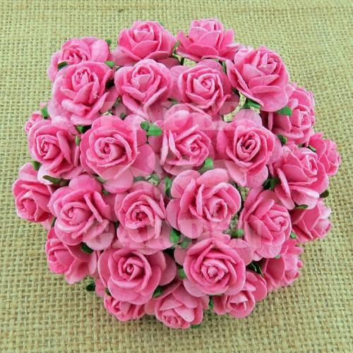 Růžová (15 mm) - 10 ks