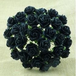 Černá (15 mm) - 10 ks