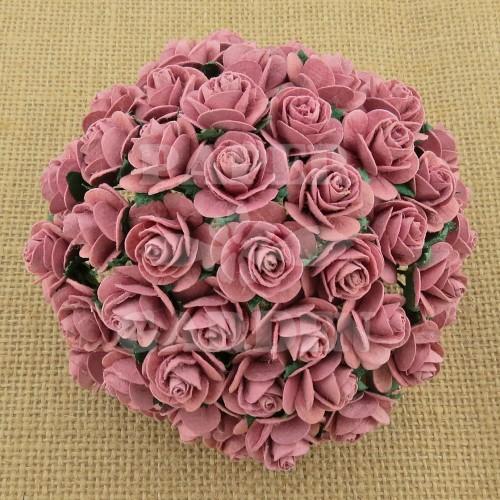 Podzimní růžová (10 mm) - 10 ks