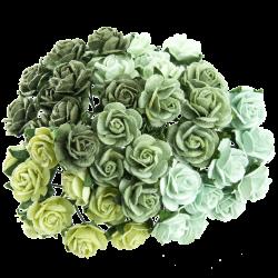 Mix Zelená (20 mm) - 50 ks
