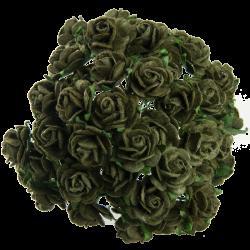 Olivová zelená (10 mm) - 10 ks