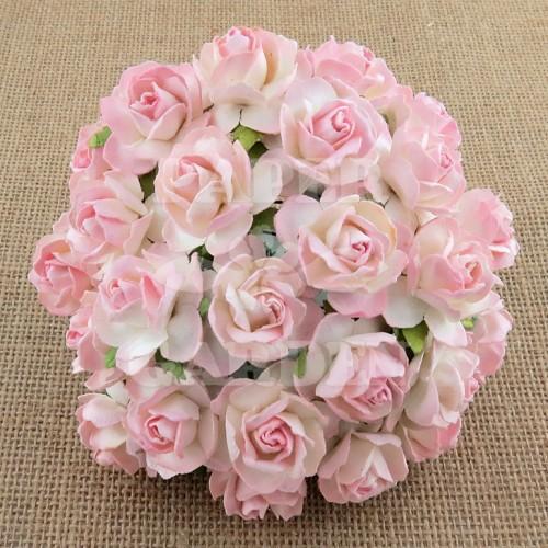 Baby Růžová žíhané - 5 ks