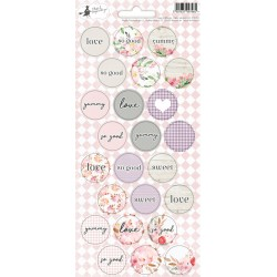 Love in bloom - Party Stickers - 02