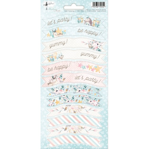 Cute & Co. - Party Stickers 01