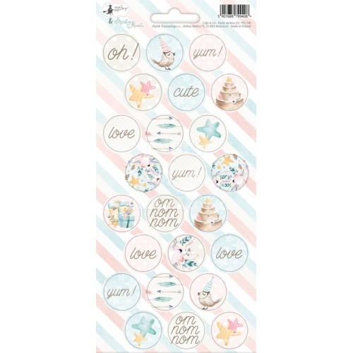 Cute & Co. - Party Stickers 02