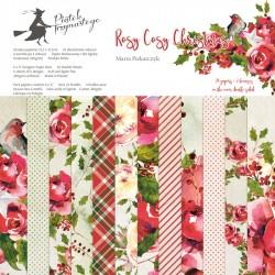 Rosy Cosy Christmas - 12 x 12