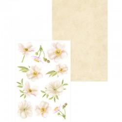 MINI KREATIVNÍ BLOČEK - Flowers