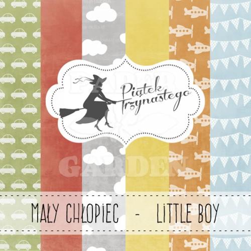 Little Boy - 12 x 12