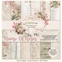 House of Roses - 12 x 12 - new design