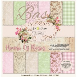 House of Roses - BASIC - 12 x 12 - new design