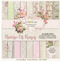 House of Roses - 6 x 6 - new design
