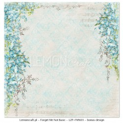Forget Me Not - BASIC - 12 x 12
