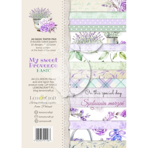 MY SWEET PROVENCE - A4