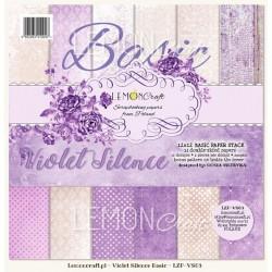Violet Silence - BASIC - 12 x 12