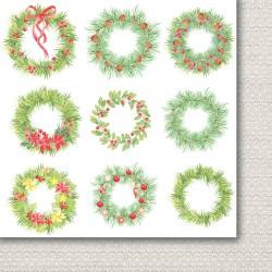 Christmas Wreaths - Bits - k vystřižení