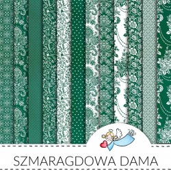 SMARAGDOVÁ DÁMA - 12 x 12