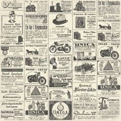 MISTER TOM'S TREASURES - Vintage newspaper