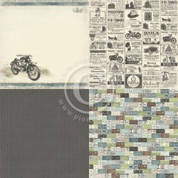 MISTER TOM'S TREASURES - 6 x 6 - Tom's motorcycle