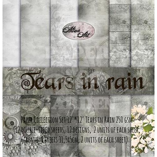 TEARS IN RAIN - 12 x 12
