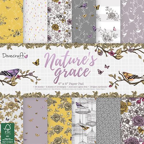 Nature Grace - 6 x 6 - 1/2 sady