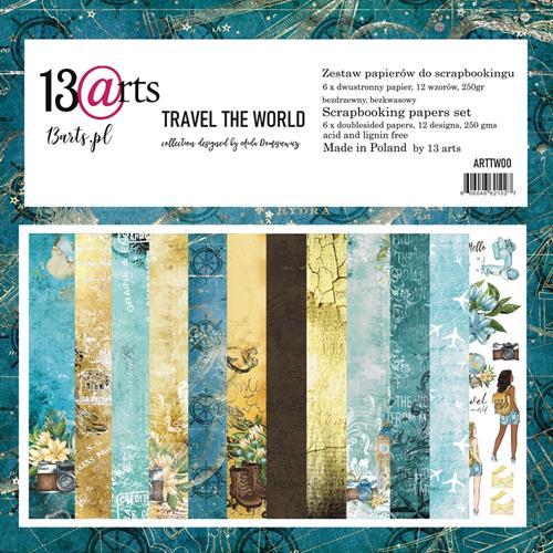 TRAVEL THE WORLD - 12 x 12
