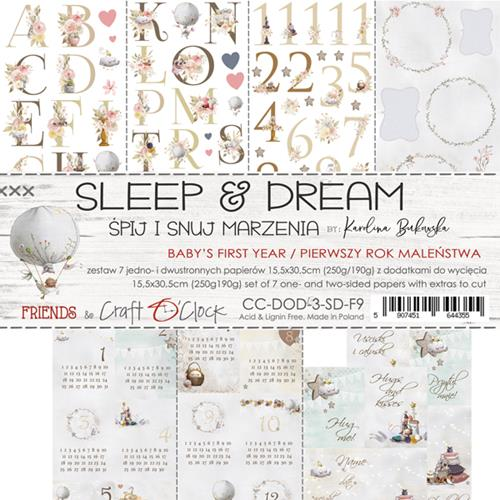 SLEEP AND DREAM - Baby's First Year - 6 x 12