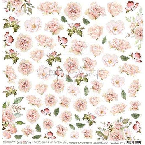 HELLO BEAUTY - Obrázky k vystřižení - Flowers XIX