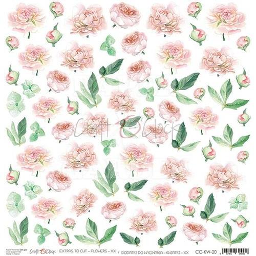 HELLO BEAUTY - Obrázky k vystřižení - Flowers XX