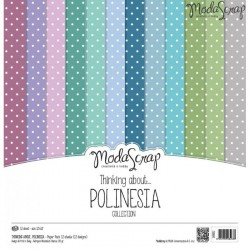 THINKING ABOUT POLINESIA - 12 x 12