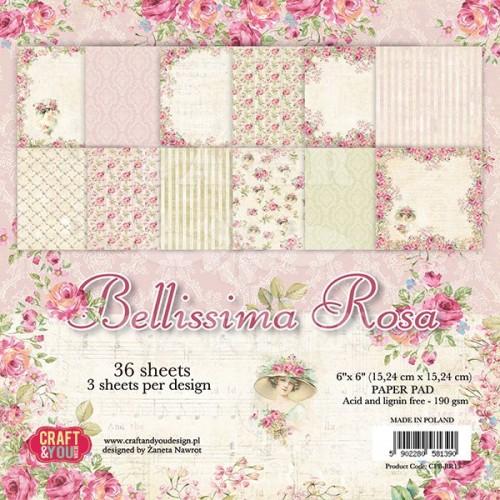 Bellissima Rosa - 6 x 6