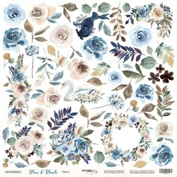 BLUE AND BLUSH - Flowers