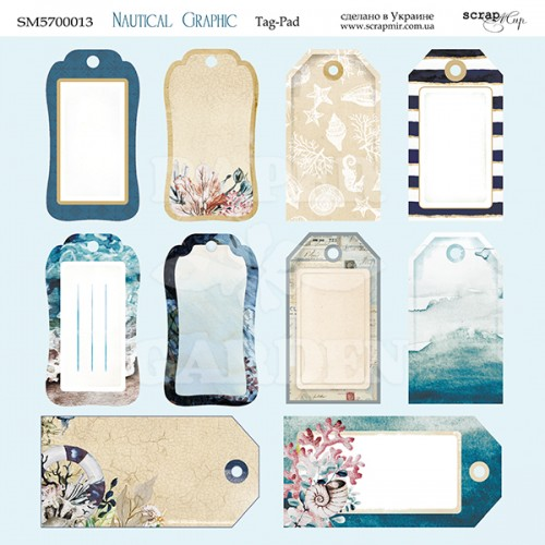 NAUTICAL GRAPHIC - Tags