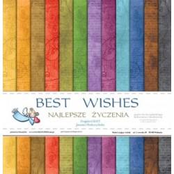 Best Wishes - 12 x 12