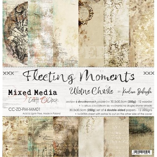 FLEETING MOMENTS - 12 x 12