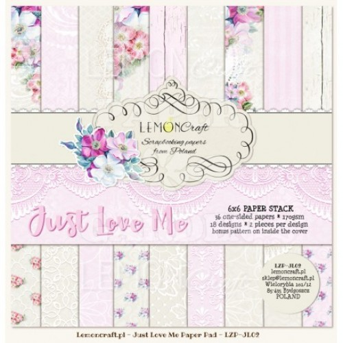 Just Love Me - 6 x 6