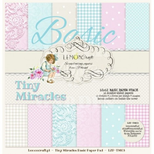 Tiny Miracles - BASIC - 12 x 12