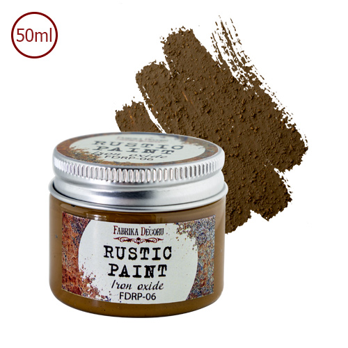 RUSTIC PAINT - Iron oxide