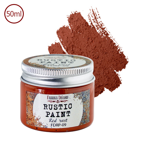 RUSTIC PAINT - Red Rust