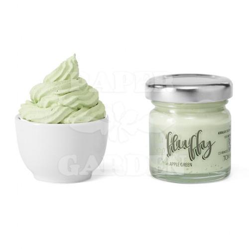 FLUFFY - Apple Green