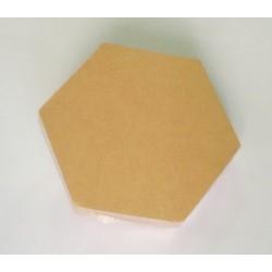 Základ pro minialbum - Hexagon (10 ks)