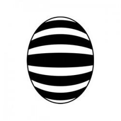 Velikonoční vajíčko - proužky