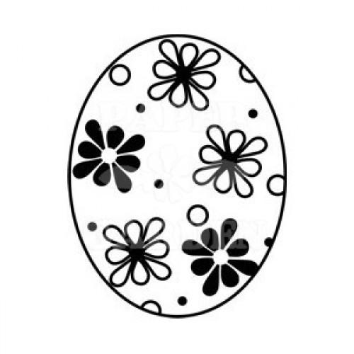 Velikonoční vajíčko - kytičky