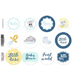 MY LITTLE BABY BOY 02 - Journal Stickers