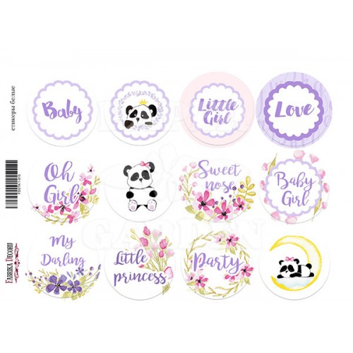 MY LITTLE BABY GIRL - Journal Stickers 02